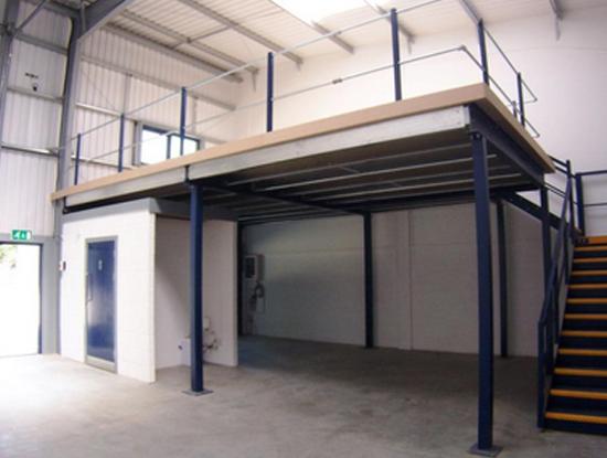 Prix mezzanine industrielle